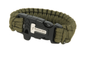 Survival bracelet with firestarter and whistle green.png