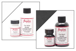 Farba akrylowa Angelus Leather Paint FLAT 29,5ml Matowa